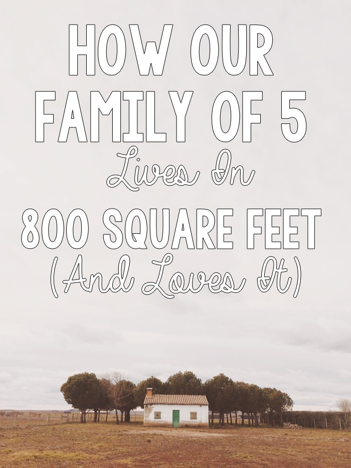 """""""While I was excited by the challenge and even looked forward to bucking the social norm and raising our family in less space than the average American family, I was nervous..."""" \\ Such a good article on the benefits of smaller spaces!"""