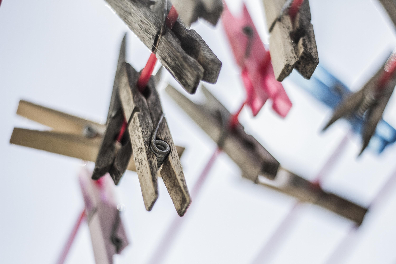 Laundry clips