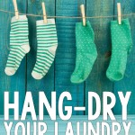 7 Great Reasons to Hang-Dry Laundry All Year-Round