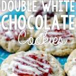 Raspberry Double White Chocolate Cookies (Grain-Free)