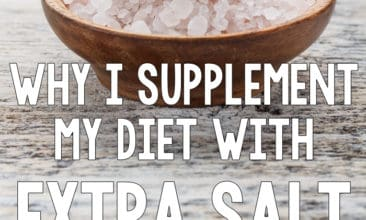 Why I Supplement My Diet with Extra Salt On Purpose (Yes, Really!)