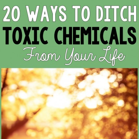 20 Ways to Ditch Toxic Chemicals from Your Life - R&Hpin