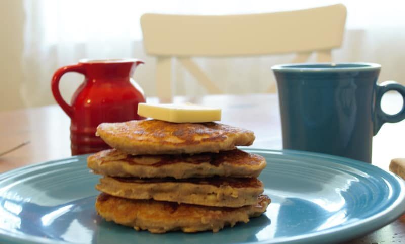 Oatmeal Banana Pancakes - R&H featured image