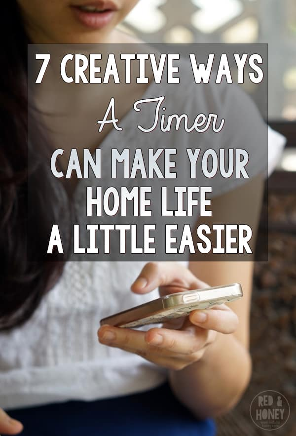 7 Creative Ways a Timer Can Make Home Life A Little Easier