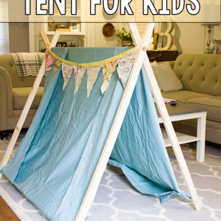 Simple DIY Play Tent for Kids