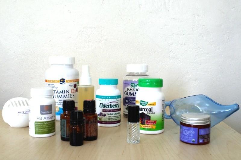 natural travel medicine kit