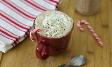 Instant Peppermint Hot Chocolate Mix