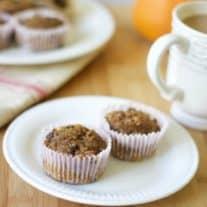 Pumpkin Spice Coconut Flour Muffins