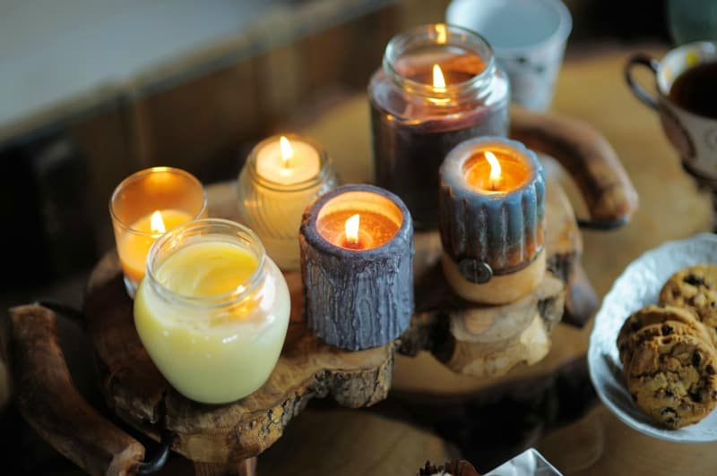 candles at home HSP