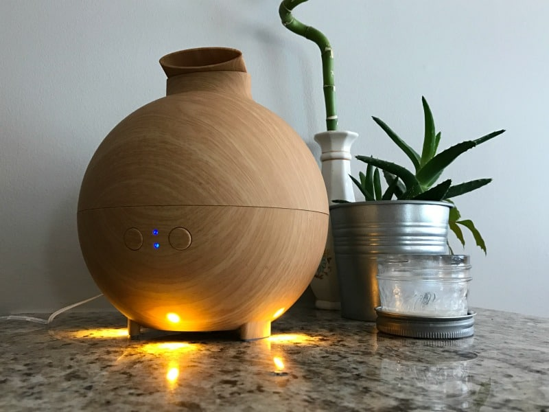 essential oil diffuser HSP at home