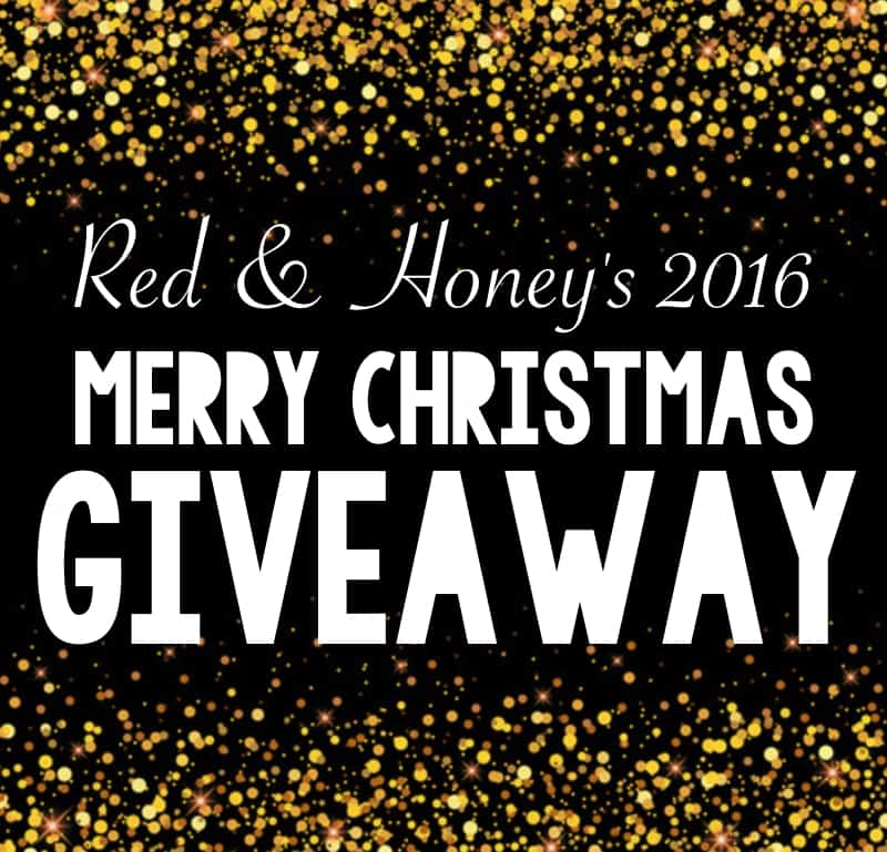 A Merry Christmas Giveaway (2016) - Red and Honey