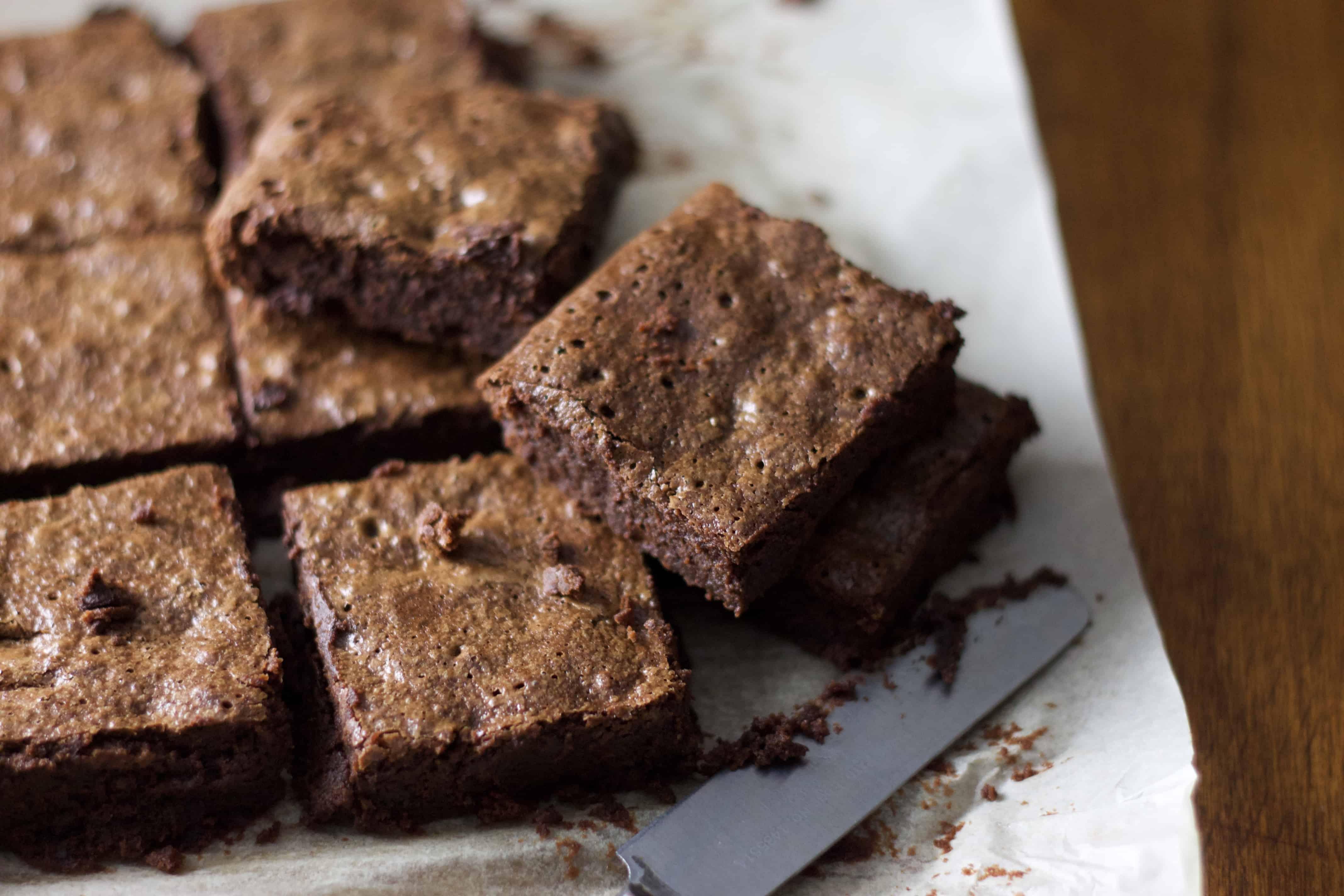 Cassava Flour Brownies