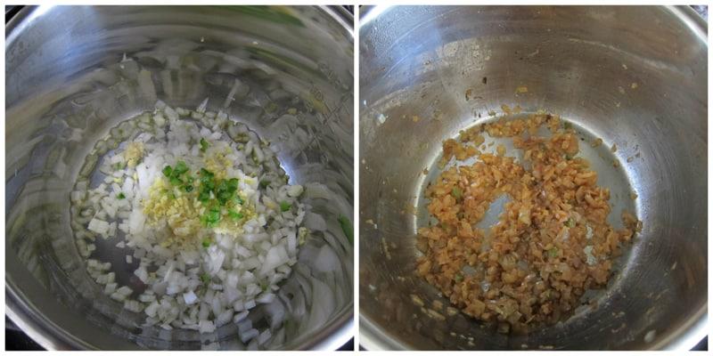 Instant Pot Chana Masala Onions