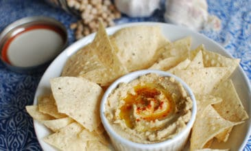 Instant Pot Hummus with dried beans