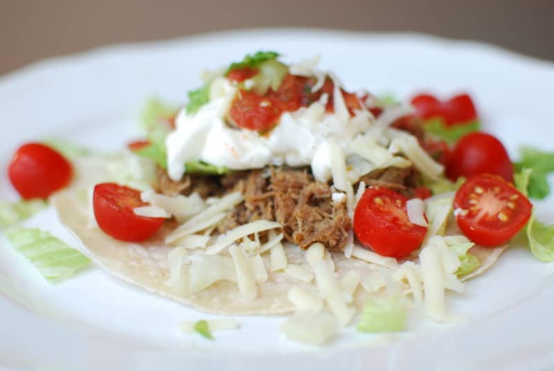 Shredded Beef Tacos - R&H