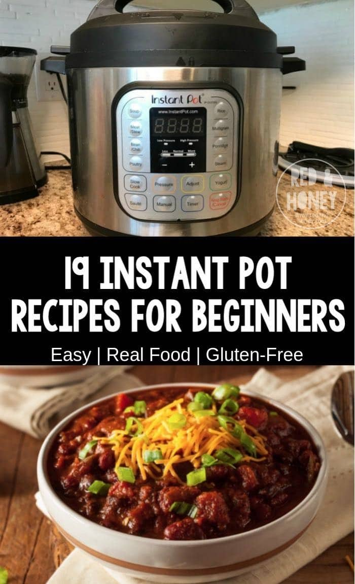 Easy Instant Pot Recipes For Beginners Real Food Ingredients