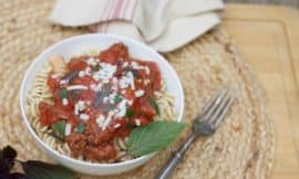 Instant Pot Italian Meat Sauce-www.redandhoney.com