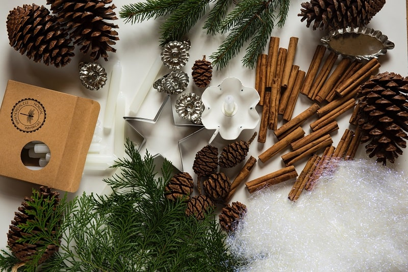 Here are five areas you can incorporate eco-friendly holiday decor in your home and celebrate mindfully.