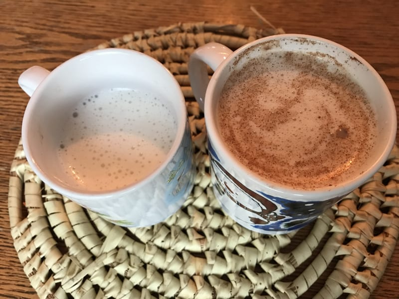 Bulletproof Milk is the perfect shot of healthy fats + protein in a warm, cozy liquid that goes down smooth with a hint of sweet. My kids love it!